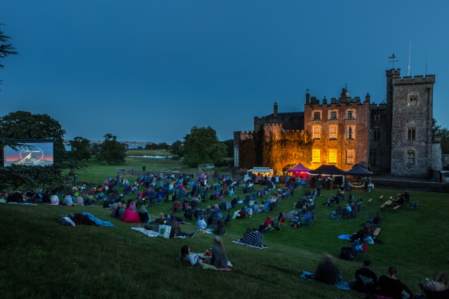 powderham castle open air cinema-12